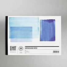 Cass Art Watercolour Gummed Pad 300gsm 12 Sheets