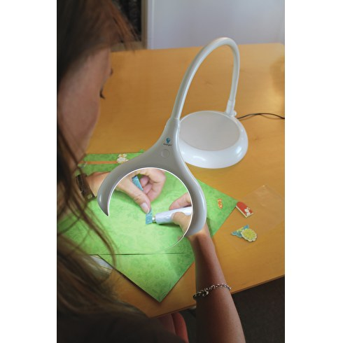 The Daylight Company Magnificent LED Magnifying Lamp