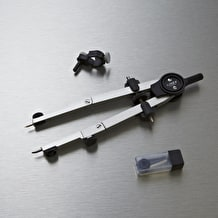Linex Bow Compass with Universal Adaptor