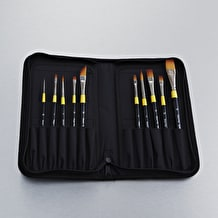Daler Rowney System 3 Brushes In Case Set of 10 - Cass Art Exclusive