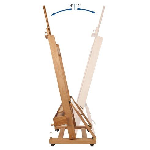Mabef M04 Master Artist Studio Easel   Professional Easels   Cass Art