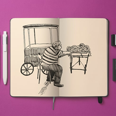 Moleskine Art Plus Soft Large Sketch Album
