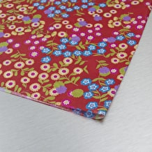 Decopatch Paper Little Flowers Red 30 x 40cm