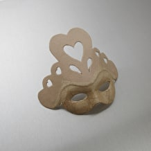 Decopatch Papier Mache Heart Mask