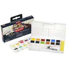 Derwent Inktense Paint Pan Travel Set of 12