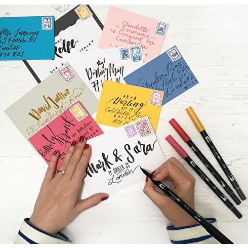 Learn to do Brush Lettering Design with Betty Etiquette at Cass Art Kensington, 21st April, 2 - 3.30pm