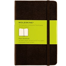 Moleskine Soft Plain Large Black Notebook