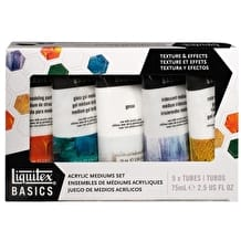 Liquitex Basics Acrylic Mediums 75ml Set of 5