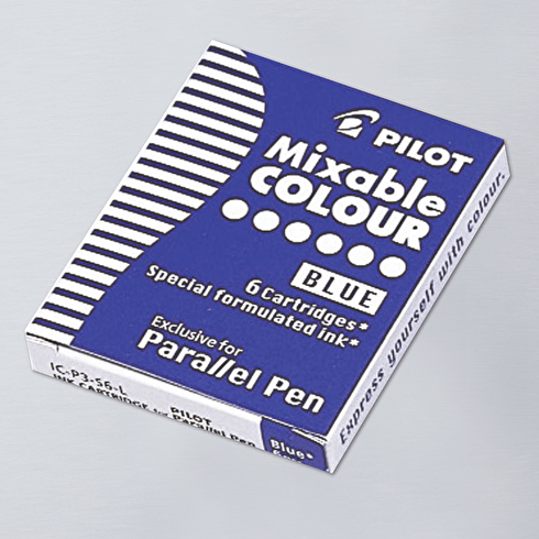 Pilot Parallel Pen Cartridge Pack of 6