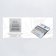 Winsor & Newton Professional Watercolour Tube Lightweight Metal Box Set of 12 5ml