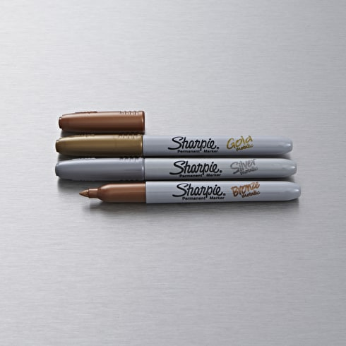 Sharpie Fine Permanent Marker Metallic Set of 3