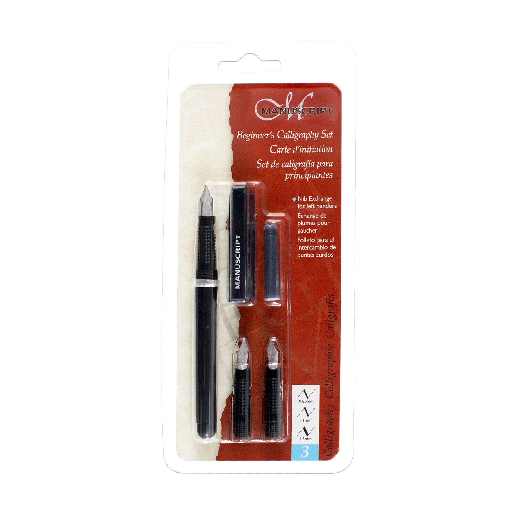 Manuscript Beginners Calligraphy Set Black Calligraphy