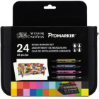 Winsor & Newton Mixed Marker Set of 24
