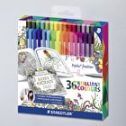 Staedtler Triplus Fineliner Assorted Colours Set of 36