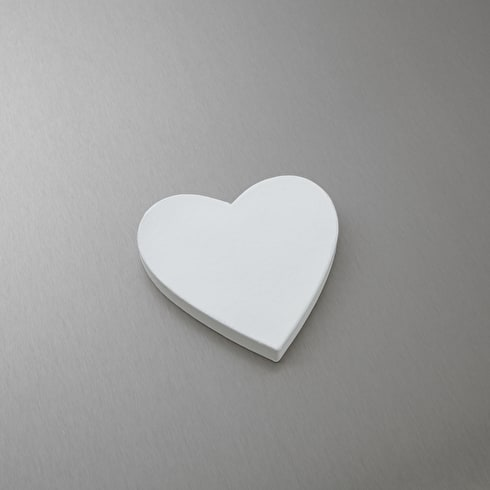 Decopatch Papier Mache Shapes White Heart Full Classic Shape