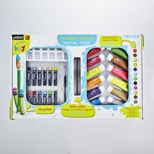Pebeo Artist Kids Metal Case Paint Set