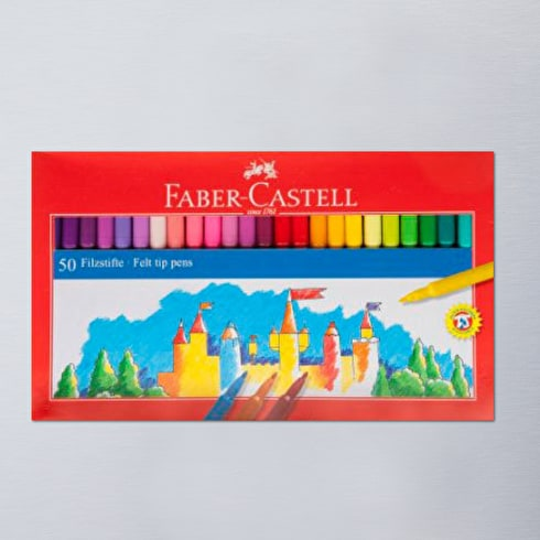 Faber Castell Fibre Tip Pen Box Set of 50