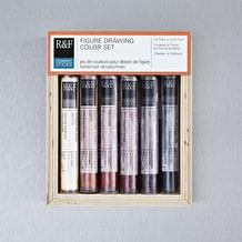 R&F Pigment Stick Figure Drawing 38ml Set of 6