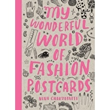 My Wonderful World of Fashion Postcards by Nina Chakrabarti
