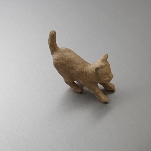 Decopatch Very Small Papier Mache Animal Pouncing Cat