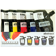 Sennelier Abstract Intro 120ml Assorted Colours Set of 5