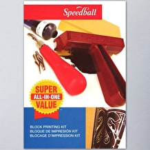 Speedball Super Value Block Printing Starter Kit