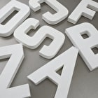 Decopatch Papier Mache Shapes Letters A-Z Large