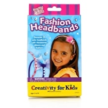 Creativity For Kids Fashion Headband Mini Kit