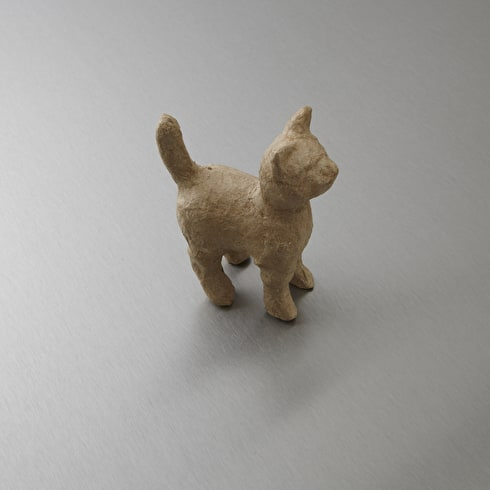 Decopatch Very Small Papier Mache Animal Standing Cat