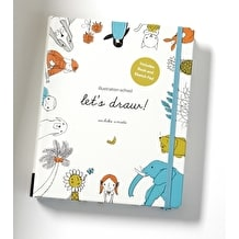 Illustration School Let's Draw Book and Sketchpad by Sachiko Umoto