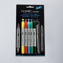 Copic Ciao Bright Tones Pack of 6 Assorted Colours