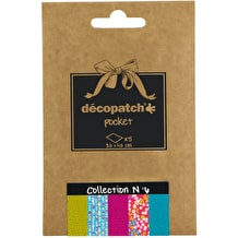 Decopatch Pocket Coordinated Papers No. 6