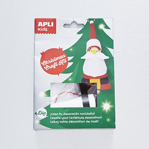 Apli Kids Craft Kit Father Christmas Decoration