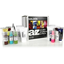Golden A-Z Acrylic Box set of 30
