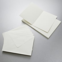 Anita's Card and Envelope Pack of 25 A5 Cream