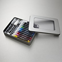 Liquitex Marker Tin Set of 14 Assorted Colours