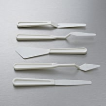 Jakar Palette Knives Assorted Shapes Set of 5