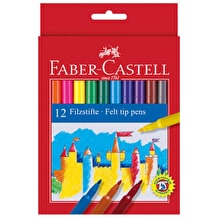 Faber-Castell Fibre Pens Set of 12