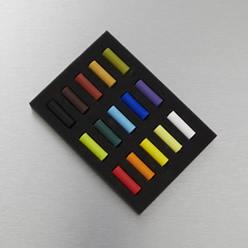 Rembrandt Soft Pastels Half Length Set of 15 Assorted Colours