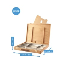 Mabef M102 Artists Sketch Box 12x16 inches