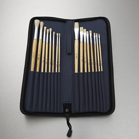 Jakar Long Handle Brush Set Pack of 16