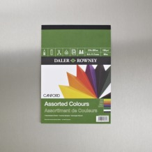 Daler Rowney Canford Pad A4 Assorted Colours