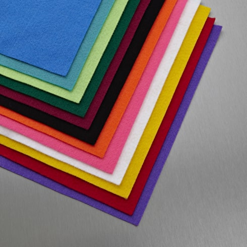 Craft Planet Acrylic Felt Sheets Set of 24 9 x 12 inches