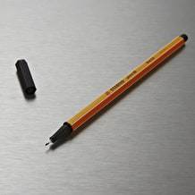 Stabilo Point 88 Black Fineliner Pen