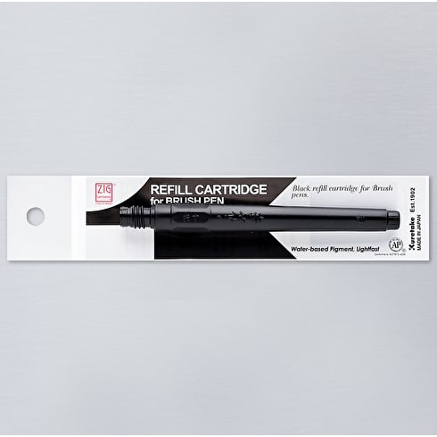 Kuretake Zig Cartoonist Brush Pen No.22 Refill Cartridge