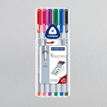 Staedtler Triplus Fineliner Set of 6