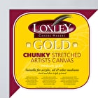 Loxley Gold Chunky Artists Canvas