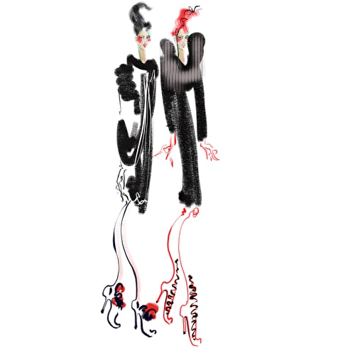 Draw fashion workshop with LCF fashion illustration course leader, Sue Dray July 5TH 6-8pm at Cass Art Islington