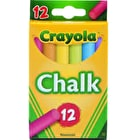 Crayola Anti Dust Chalk Pack of 12 Assorted Colours