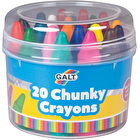 Galt Chunky Crayons Set of 20 Assorted Colours